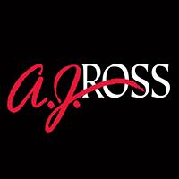 Large aj ross creative media logo