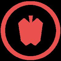Large edenagency emblem red