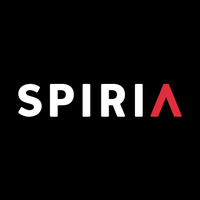 Large facebook twitter spiria logo