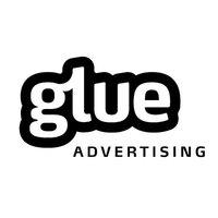 Large glue advertising logo