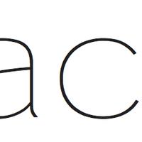 Large kohactive logo single black
