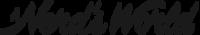Large logo script small black