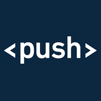 Large push logo