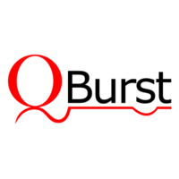 Large qburst logo
