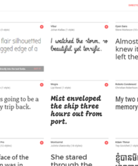Medium google web fonts