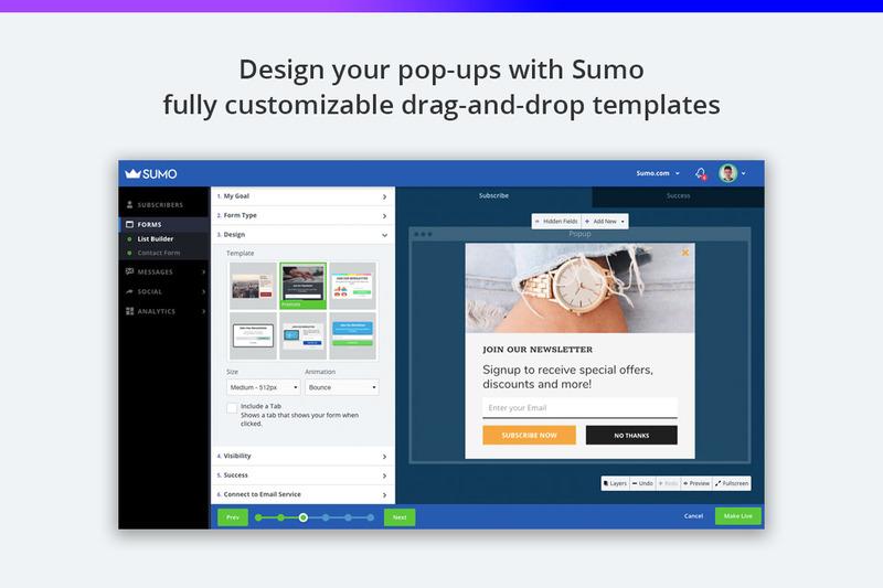 sumo shopify app