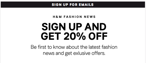 newsletter signup boost